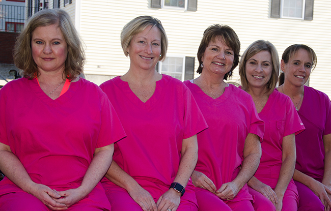Dental assistants staff photo for Pediatric Dentistry of Salem