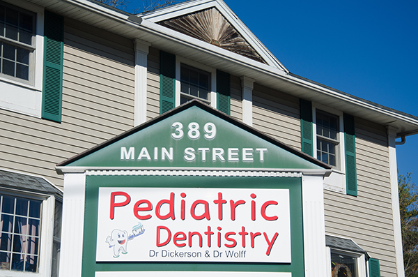 Office front for Pediatric Dentistry of Salem located in Salem, NH